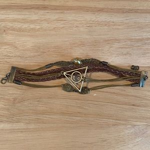 HARRY POTTER Leather Bracelet